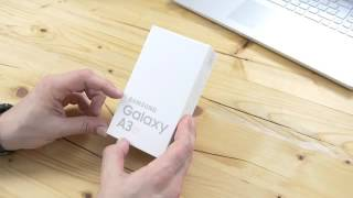 galaxy a3 2016 unboxing