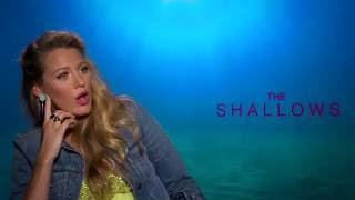 The Shallows: Blake Lively opens up about Ryan Reynolds and being a mom