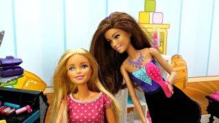 Барби в Салоне красоты. Видео для девочек - Игры с Барби