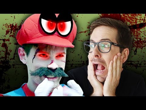 SUPER MARIO ODYSSEY AS A HORROR MOVIE