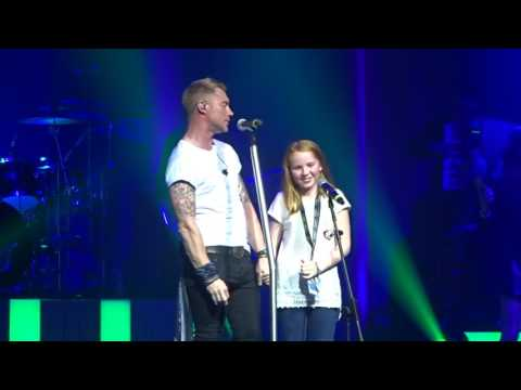 Ronan and his daughter in Dublin 2016 with Think I don't remember