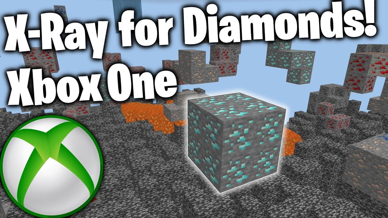 How to Download X Ray ore MOD on Minecraft XboxOne Tutorial (New