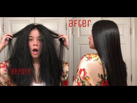 SLEEK STRAIGHT HAIR ROUTINE | JAYDA LAKOTA
