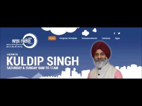 06 Jan 2018    Dilan Di Saanjh Show    Host Kuldip Singh    KRPI 1550 AM