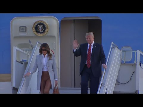 Trump Arrives in Finland for Meeting With Putin