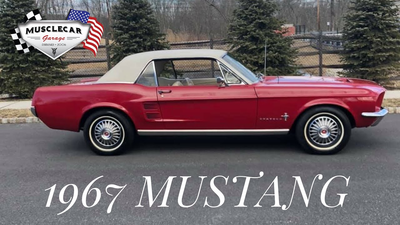 """1967 Mustang """"Little Red Stang"""" - MuscleGarage.com ..."""