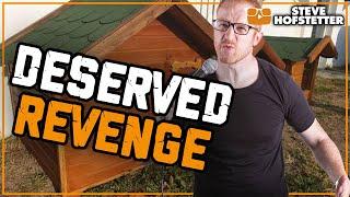 Comedian Helps Plot Revenge - Steve Hofstetter