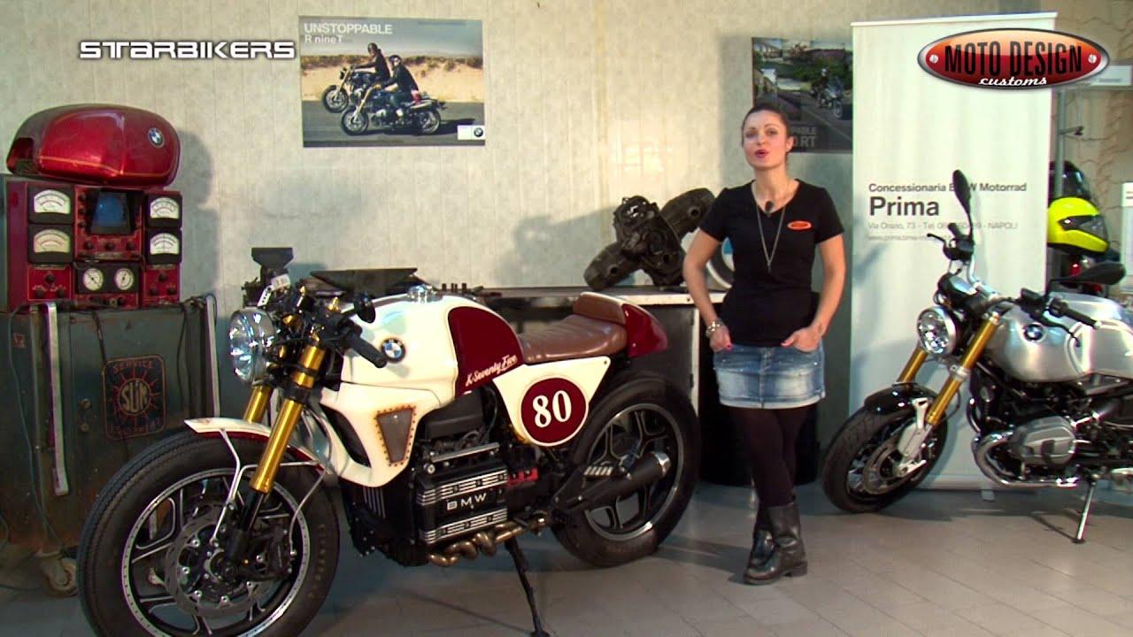 caf racer bmw k75 by moto design customs youtube. Black Bedroom Furniture Sets. Home Design Ideas