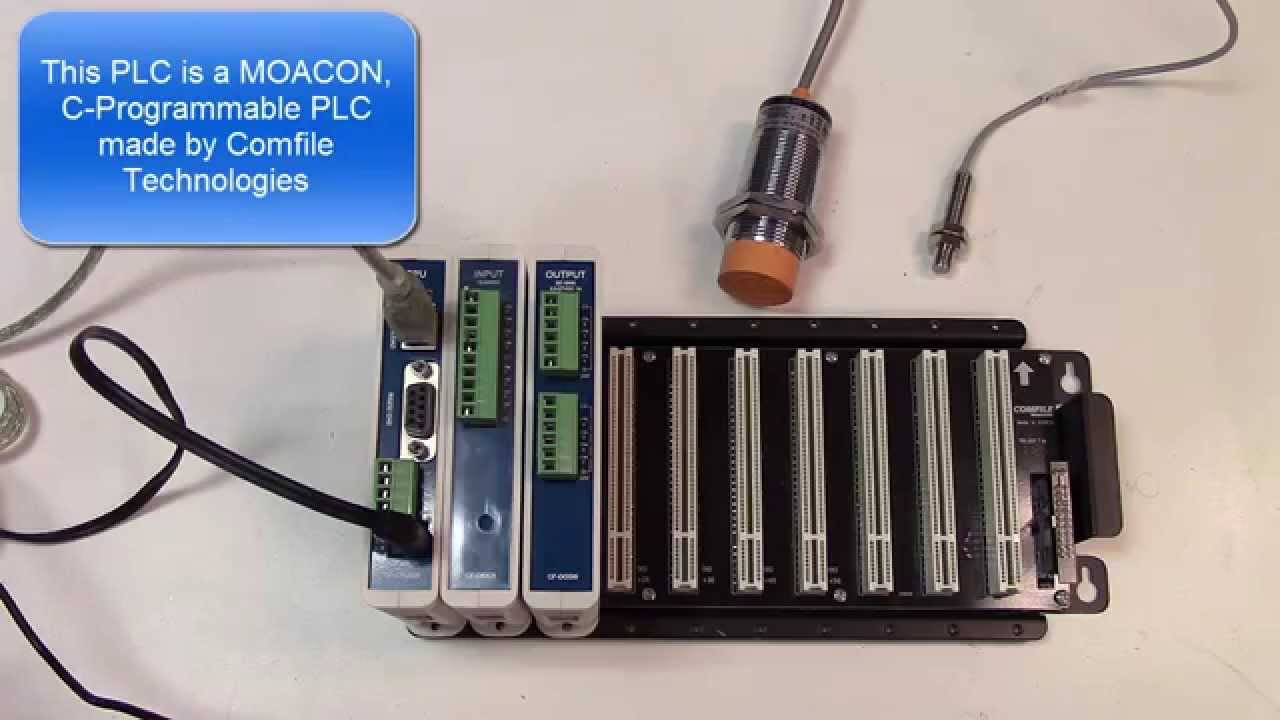 hight resolution of proximity sensor interfacing to plc made easy