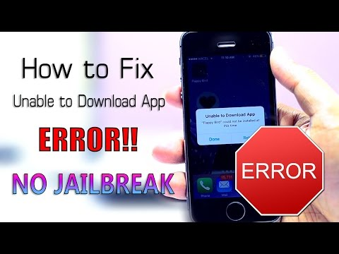 "How to Fix ""Unable to Download App"" ERROR!! (NO JAILBREAK) iOS 9 - 9.3.1"