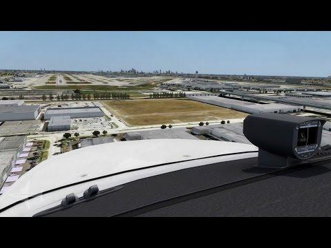 Prepar3D V.3 | First Look | Latin VFR Miami Int'l Airport KMIA V.3