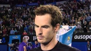 Andy Murray: Women can be very good coaches too - Australian Open 2015