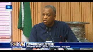 Don't Dictate To Nigeria, Onyeama Tells Diplomatic Communities
