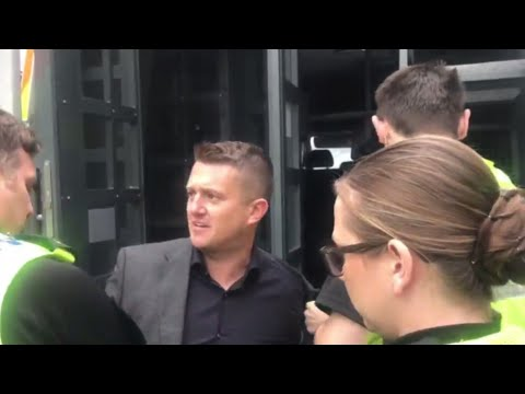 Tommy Robinson Arrest Investigation