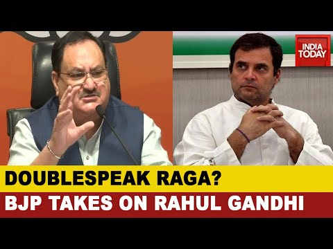 BJP Vs Congress Debate Over Absence Of Rahul Gandhi From Defence Meets