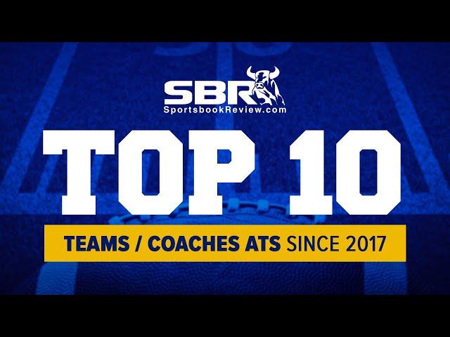 NCAAF Top 10 Teams/Coaches ATS Last 3 Seasons (2017-2019)