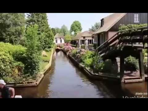 The city of water, Giethoorn,Netherlands