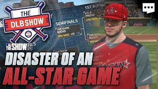 All Star Game but one team gets blown out |  MLB The Show Franchise DLB Ep 19