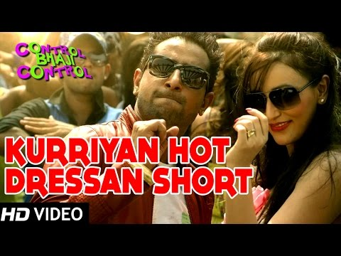 Kurriyan Hot Dressan Short | Latest Punjabi Song | Geeta Zaildar | Control Bhaji Control