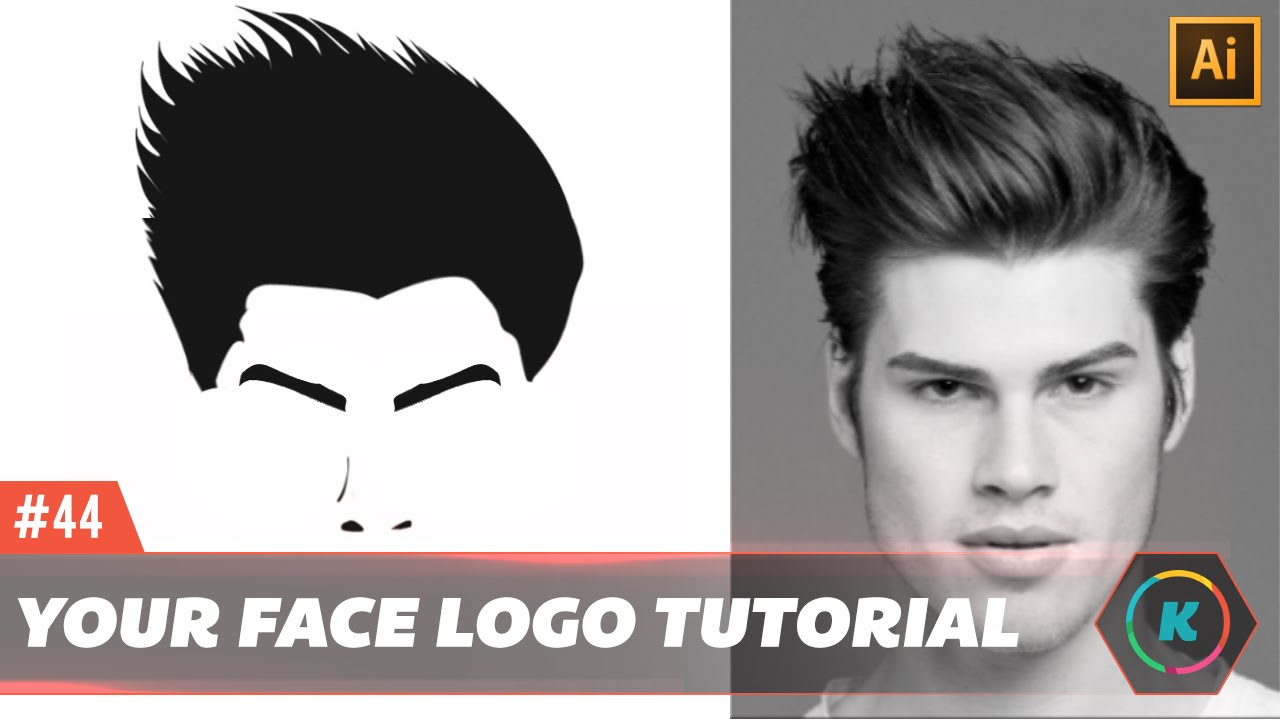 How To Make Your Face As A Logo In Illustrator Vector