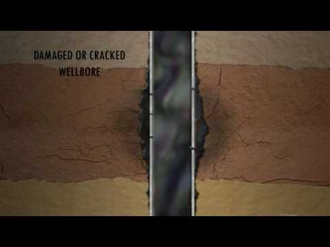 Damaged or Cracked WellBore 3D Drilling Animation