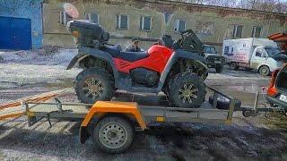 Купили квадроцикл СF Moto X8 за 250 000 р.