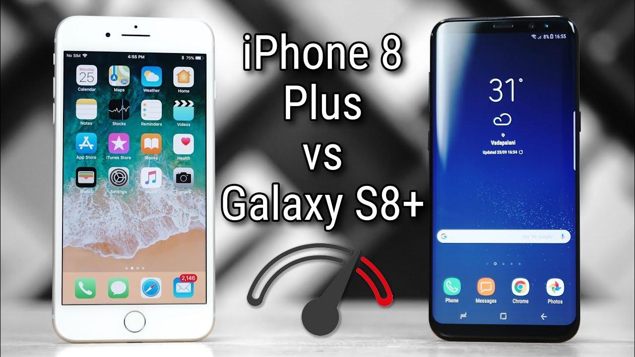 S8 Vs Iphone 8 Plus