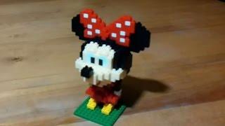 iBLOCK FUN 集積總動員 米妮米老鼠 積木組裝Minnie Mouse(Loz Diamond Block)
