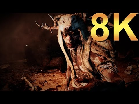 Far Cry Primal 8K Ultra Settings Gameplay High Resolution PC Gaming 4K | 5K | 8K and Beyond