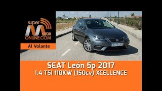 SEAT León 2017  / Al volante / Prueba dinámica / Review / Supermotoronline.com