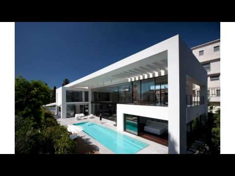 Modern minimalist styled mansion the haifa house by pitsou kedem architects homesthetics inspiring i