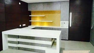 beautiful counter table design
