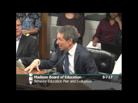Board of Education Special Meeting 8/7/2017