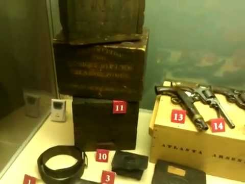 Some Artifacts at National Civil War Naval Museum,