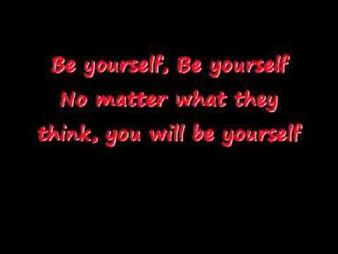 Be Yourself (Lyrics)