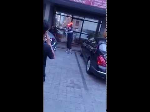 Jakarta bule security