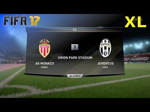 "FIFA 17 - AS Monaco vs. Juventus ""CL Semi-Final"" @ Union Park Stadium (XL Match)"