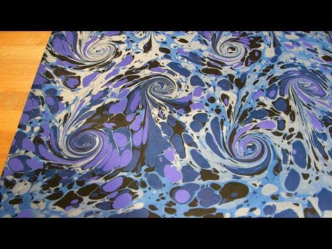 How To Remove Ink From Leather >> The Art of Marbling | Crafting a beautiful book | The ...