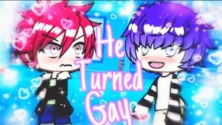 🏳️‍🌈My homophobic bully turned gay for me ❦GAY GLMM ❦Gacha Life gay love story