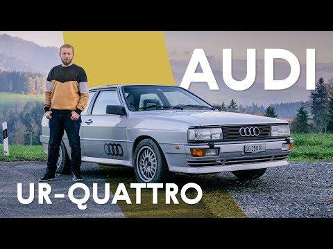 Audi Ur-Quattro: легенда о четырёх ведущих | Тест и история
