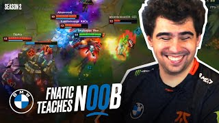 Bwipo coaches noob how to get out of Silver | Fnatic Teaches Noob S2E1 - Presented by BMW
