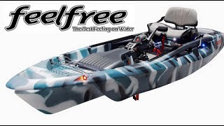 NEW FeelFree Dorado & Overdrive Pedal/Motor Drive - First Look ICAST 2017