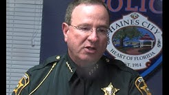 RAW VIDEO: Polk County Sheriff on Haines City manhunt of armed robbery suspects
