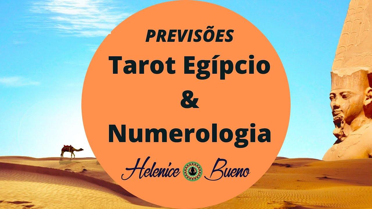 04/08/2020 Helenyce Bueno numerologia,Tarot Egipcio e Baralho cigano