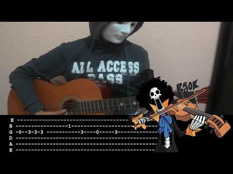 One piece - Binks no sake Tab Guitar Cover