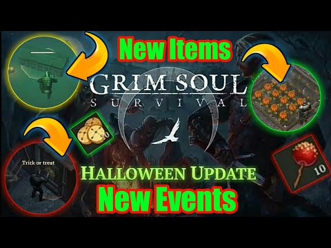 Grim Soul Dark Fantasy : #140🔥🎃Halloween🎃 Update 1.5.0 is Coming With New Items & New Events🔥