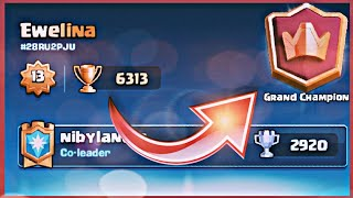 WBIJAM GRAND CHAMPIONA! CLASH ROYALE POLSKA