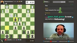 GM Finegold and the Sunday Night Stream!