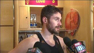 Kevin Love Postgame Interview | Cavs vs Celtics ECF Game 3 | May 21, 2017
