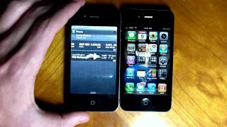 iOS 5 vs iOS 4 The Differences Part 1